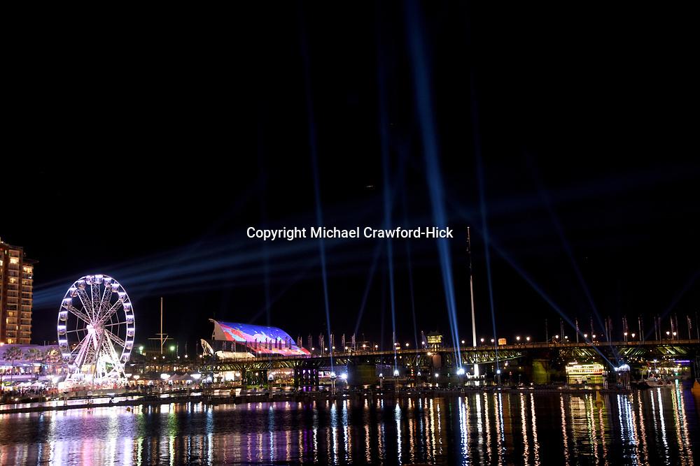 Sydney Water front at Night for Vivid Sydney