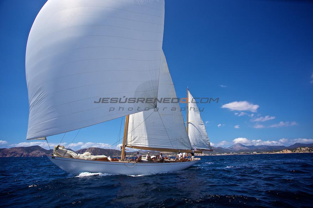 Classic Yachts Silver Bollard Regatta 2013, Puerto Adriano, Mallorca, Spain