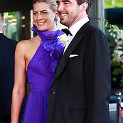 NLD/Amsterdam/20110527 - 40ste verjaardag Prinses Maxima, Kroonprins Nikolaos en Prinses Tatjana