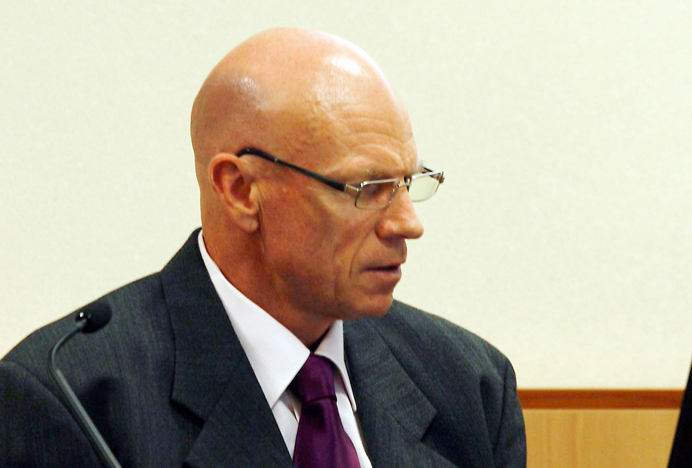 Australian mine safety expert David Reece at the Pike River Royal Commision, District Court, Greymouth, New Zealand, Thursday, February 09, 2012. Credit:SNPA / The Press, Deidre Mussen   **POOL**BEST AVAILABLE QUALITY**