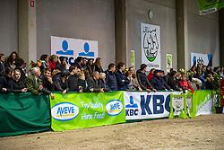 Public<br /> Klasse Midden<br /> Nationaal Indoor Kampioenschap Pony's LRV <br /> Oud Heverlee 2019<br /> © Hippo Foto - Dirk Caremans<br /> 09/03/2019