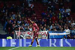 March 22, 2019 - Madrid, MADRID, SPAIN - Wilfredo Daniel Caballero of Argentina celebrates a goal during the international friendly football match played between Argentina and Venezuela at Wanda Metropolitano Stadium in Madrid, Spain, on March 22, 2019. (Credit Image: © AFP7 via ZUMA Wire)