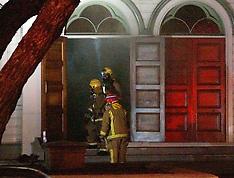 Wellington-Fire crews callout to Wesley Church in Taranaki Street