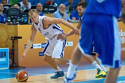 Sasu Salin #9 of Finland during basketball match between national team of Finnland and Sweden of Eurobasket 2013 on September 5, 2013 in Arena Bonifika, Koper, Slovenia. (Photo By Matic Klansek Velej / Sportida.com)