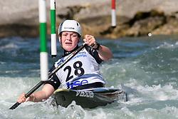 Hannah THOMAS of New Zeeland during the Canoe Single (WC1) Womens Semi Final race of 2019 ICF Canoe Slalom World Cup 4, on June 30, 2019 in Tacen, Ljubljana, Slovenia. Photo by Sasa Pahic Szabo / Sportida
