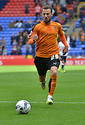 Adam Le Fondre during the Sky Bet Championship match between Bolton Wanderers and Wolverhampton Wanderers at the Macron Stadium, Bolton, England on 12 September 2015. Photo by Mark Pollitt.