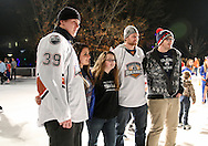 December 14, 2014: The Oklahoma City Barons host WinterFest at the Devon Ice Rink in the Myriad Gardens in Oklahoma City, OK.