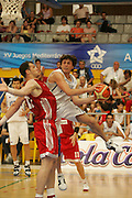 Giochi del Mediterraneo Almeria 2005<br /> azioni di gioco<br /> nella foto: marco mordente