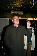 SUGGS, Beyond the Rave, Celebration of Hammer Film's  first horror movie broadcasr on MYSpace. Shoreditch House. London. 16 April 2008.  *** Local Caption *** -DO NOT ARCHIVE-© Copyright Photograph by Dafydd Jones. 248 Clapham Rd. London SW9 0PZ. Tel 0207 820 0771. www.dafjones.com.