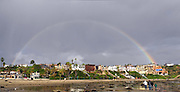 Rainbow Over Newport Beach Homes On The Coast