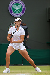 LONDON, ENGLAND - Monday, July 1, 2013: Laura Robson (GBR) during the Ladies' Singles 4th Round match on day seven of the Wimbledon Lawn Tennis Championships at the All England Lawn Tennis and Croquet Club. (Pic by David Rawcliffe/Propaganda)