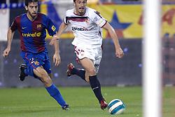 03-03-2007 VOETBAL: SEVILLA FC - BARCELONA: SEVILLA  <br /> Sevilla wint de topper met Barcelona met 2-1 / Jesus Navas Gonzalez<br /> &copy;2006-WWW.FOTOHOOGENDOORN.NL