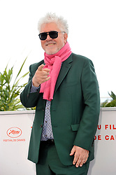 Pedro Almodovar attending the Pain and Glory Photocall during the 72nd Cannes Film Festival, Festival des Palais