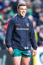 George Ford of Leicester Tigers - Mandatory by-line: Robbie Stephenson/JMP - 27/04/2018 - RUGBY - Welford Road Stadium - Leicester, England - Leicester Tigers v Newcastle Falcons - Aviva Premiership