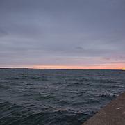 Today's winter sunrise at Narragansett Town Beach, Narragansett  Rhode Island. February  23, 2013.