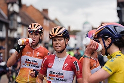 Strong performance from Amalie Dideriksen after being in one of the major escapes of the day at Aviva Women's Tour 2016 - Stage 2. A 140.8 km road race from Atherstone to Stratford upon Avon, UK on June 16th 2016.