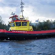 NLD/Amsterdam/20130916 - Linda Magazine bestaat 10 jaar, havendienst, port of Amsterdam 8