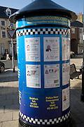 Home Office Anti-Social Behaviour Order notices ASBO, Bridlington, Yorkshire, England