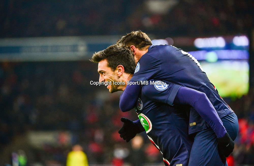 Joie Javier PASTORE - 21.01.2015 - Paris Saint Germain / Bordeaux - Coupe de France<br /> Photo : Dave Winter / Icon Sport
