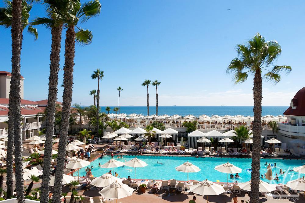 Hotel Del Coronado Swimming Pool, Coronado Island, California