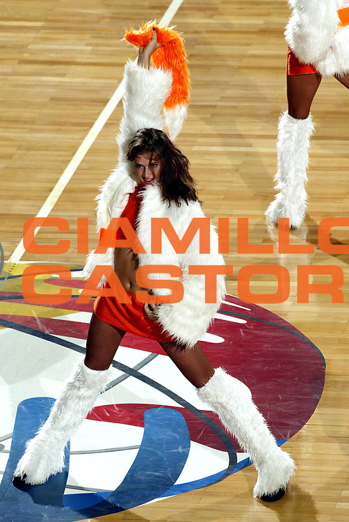 DESCRIZIONE : Ankara Eurobasket Women 2005 Russia-Francia<br /> GIOCATORE : Cheerleaders<br /> SQUADRA : Red Foxes<br /> EVENTO : Eurobasket Women 2005 Campionati Europei Donne 2005<br /> GARA : Russia Francia Russia France<br /> DATA : 09/09/2005<br /> CATEGORIA :<br /> SPORT : Pallacanestro<br /> AUTORE : Ciamillo&amp;Castoria/Fiba Europe