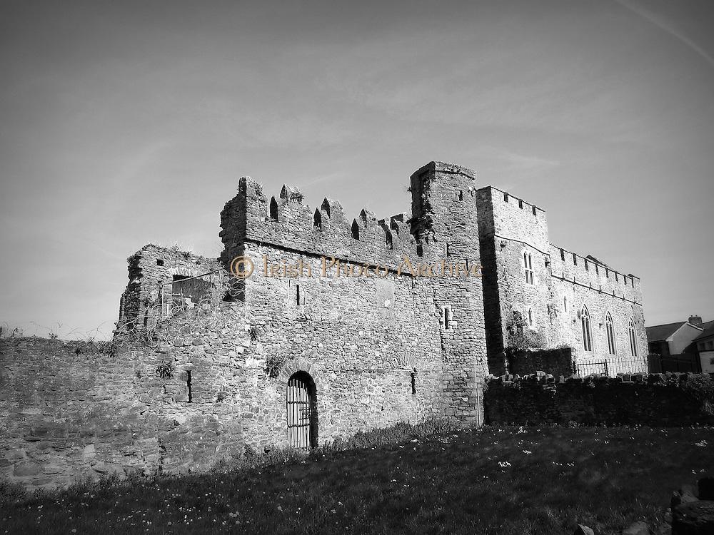 Swords Castle, Swords, Dublin c.1200,