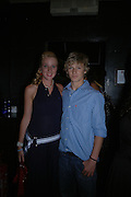 Georgina Tindall and  Alex Pettyfer. Manhattan A* List party in aid of the British Dyslexia association. Raffles nightclub. King's Rd. London. 29 August 2005. ONE TIME USE ONLY - DO NOT ARCHIVE  © Copyright Photograph by Dafydd Jones 66 Stockwell Park Rd. London SW9 0DA Tel 020 7733 0108 www.dafjones.com