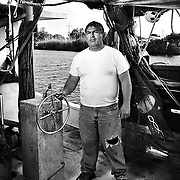 "Murvin Gaspard is fifth generation shrimper from Cut Off Louisiana. ""I'm just frustrated at the situation,"" he says. ""We're struggling - we've been hit by so many things. Last year was a record Low Volume - This was supposed to be a new beginning - looked to be a good year...My whole life is wrapped up in this. I have 20k invested in this season - and now it might be gone..."" The region and its residents have been preparing for the growing oil spill in the Gulf of Mexico after the Deepwater Horizon disaster. ltqmb ""Murvin"""