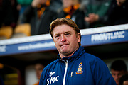 Bradford City Manager Stuart McCall  during the EFL Sky Bet League 1 play off first leg match between Bradford City and Fleetwood Town at the Coral Windows Stadium, Bradford, England on 4 May 2017. Photo by Simon Davies.