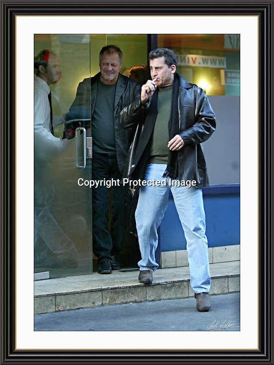 STARSKY & HUTCH Soho London 29/10/2003 large A2 Museum-quality Archival signed Framed Print (Limited Edition of 25) <br /> <br /> (Free Tracked Shipping Europe)