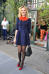 NATALIA VODIANOVA at the launch of the Natalia Dress, inspired by Natalia Vodianova to benefit her Naked Heart Foundation held at Caramel Baby&Child, 77 Ledbury Road, London W11 on 16th May 2012.