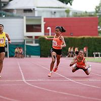 B Div Girls 200m