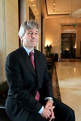 UK ENGLAND LONDON 24MAY05 - Michael Kushma, Managing Director of Morgan Stanley Investment Management Ltd poses for portraits at 25 Cabot Square, the Morgan Stanley HQ in the Docklands, London...jre/Photo by Jiri Rezac ..© Jiri Rezac 2005..Contact: +44 (0) 7050 110 417.Mobile:  +44 (0) 7801 337 683.Office:  +44 (0) 20 8968 9635..Email:   jiri@jirirezac.com.Web:    www.jirirezac.com..© All images Jiri Rezac 2005 - All rights reserved.