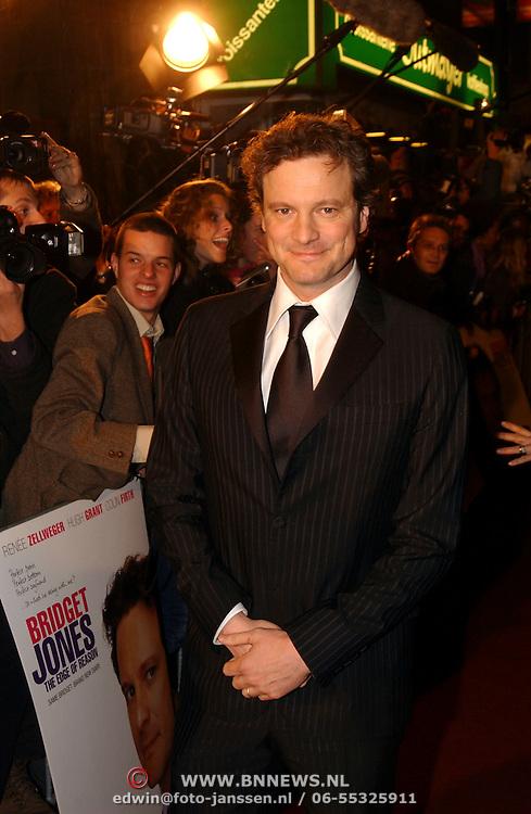 Premiere Bridget Jones Diary II, Colin Firth