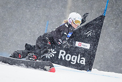 Selina Joerg (GER) competes during Qualification Run of Women's Parallel Giant Slalom at FIS Snowboard World Cup Rogla 2016, on January 23, 2016 in Course Jasa, Rogla, Slovenia. Photo by Ziga Zupan / Sportida