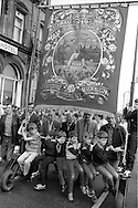 Barnbro Main banner, 1983 Yorkshire Miner's Gala. Barnsley