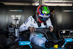October 17, 2018 - Valencia, Spain - PAFFET Gary (gbr), HWA RACELAB portrait during the Formula E official pre-season test at Circuit Ricardo Tormo in Valencia on October 16, 17, 18 and 19, 2018. (Credit Image: © Xavier Bonilla/NurPhoto via ZUMA Press)
