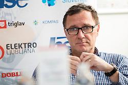 President of Kajakaska Zveza Slovenije, Andrej Jelenc at press conference of Kajakaska Zveza Slovenije before season 2018, on March 15, 2018 in Ljubljana, Slovenia. Photo by Urban Urbanc / Sportida