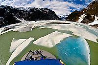 Shakes Slough, a tributary of the Stikine RIver, Stikine LeConte Wilderness, Southeast Alaska USA