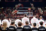 DESCRIZIONE : Milano Lega A 2015-16 Olimpia EA7 Emporio Armani Milano vs Obiettivo Lavoro Virtus Bologna<br /> GIOCATORE : Pubblico<br /> CATEGORIA : Inno Nazionale<br /> SQUADRA : Olimpia EA7 Emporio Armani Milano<br /> EVENTO : Campionato Lega A 2015-2016<br /> GARA : Olimpia EA7 Emporio Armani Milano Obiettivo Lavoro Virtus Bologna<br /> DATA : 08/11/2015<br /> SPORT : Pallacanestro <br /> AUTORE : Agenzia Ciamillo-Castoria/I.Mancini<br /> Galleria : Lega Basket A 2015-2016  <br /> Fotonotizia : Milano  Lega A 2015-16 Olimpia EA7 Emporio Armani Milano Obiettivo Lavoro Virtus Bologna<br /> Predefinita :