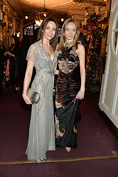 Left to right, NATALIA BONDARENKO and ANNA ZAHKAROVA at The Backstage Gala hosted by Diana Vishneva , Principal Dancer of the Mariinsky and American Ballet Theatre, and Natalia Vodianova in aid of The Naked Heart Foundation held at The London Coliseum, St.Martin's Lane, London on 17th April 2015.