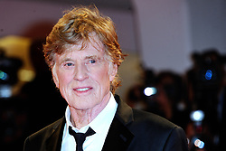 File photo - Robert Redford attending the Our Souls at Night premiere during the 74th Venice International Film Festival (Mostra di Venezia) at the Lido, Venice, Italy on September 01, 2017. Oscar winner Robert Redford will retire from acting following this autumn's release of his upcoming film The Old Man & The Gun, the 81-year-old told Entertainment Weekly in a story published on Monday. Photo by Aurore Marechal/ABACAPRESS.COM