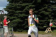 14.07.2009, Linnanpuisto, H?meenlinna..Fin5-Suunnistusviikko 2009, Puistosuunnistus - Miesten MM-katsastus..Petteri Muukkonen - VeVe.©Juha Tamminen