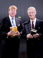 Frankfurt Belgium Royals Visit City Hall Of Frankfurt - 18 Oct 2016