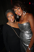 l to r: Linda Cumberbatch and Jo Coleman at The Birthday Celebration for Kelli Coleman held at The Avenue on Decemeber 6, 2009 in New York City