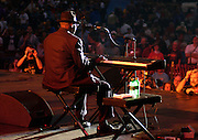 Pinetop Perkins at King Biscuit Festival.Helena, Arkansas