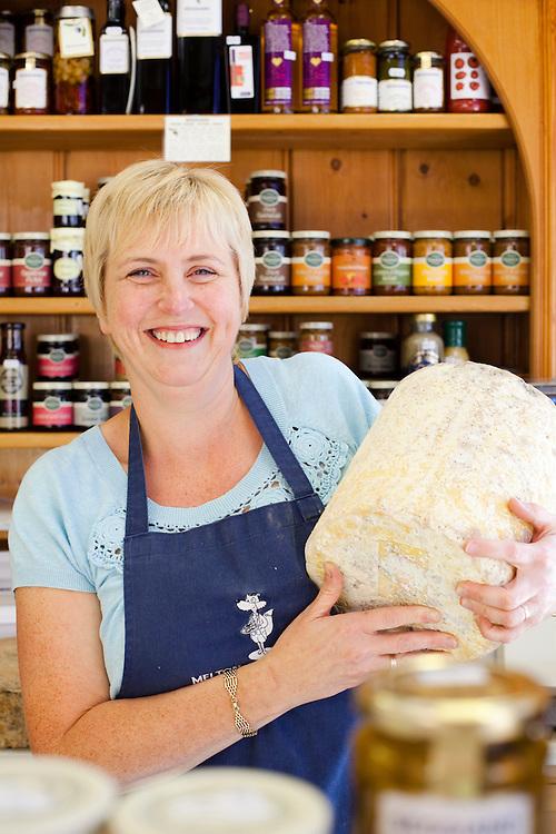 Lyn Brown, Melton Cheese Shop, Melton Mowbray