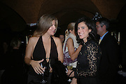 Irene Vassilakis and Danielle Bodor. Annabels magazine cocktail party hosted by William Cash. Annabels. Berkeley Sq. London. 19  September 2005. ONE TIME USE ONLY - DO NOT ARCHIVE © Copyright Photograph by Dafydd Jones 66 Stockwell Park Rd. London SW9 0DA Tel 020 7733 0108 www.dafjones.com