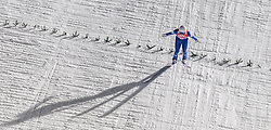 06.01.2016, Paul Ausserleitner Schanze, Bischofshofen, AUT, FIS Weltcup Ski Sprung, Vierschanzentournee, Bischofshofen, Finale, im Bild Clemens Aigner (AUT) // Clemens Aigner of Austria during his 1st round jump of the Four Hills Tournament of FIS Ski Jumping World Cup at the Paul Ausserleitner Schanze in Bischofshofen, Austria on 2016/01/06. EXPA Pictures © 2016, PhotoCredit: EXPA/ JFK