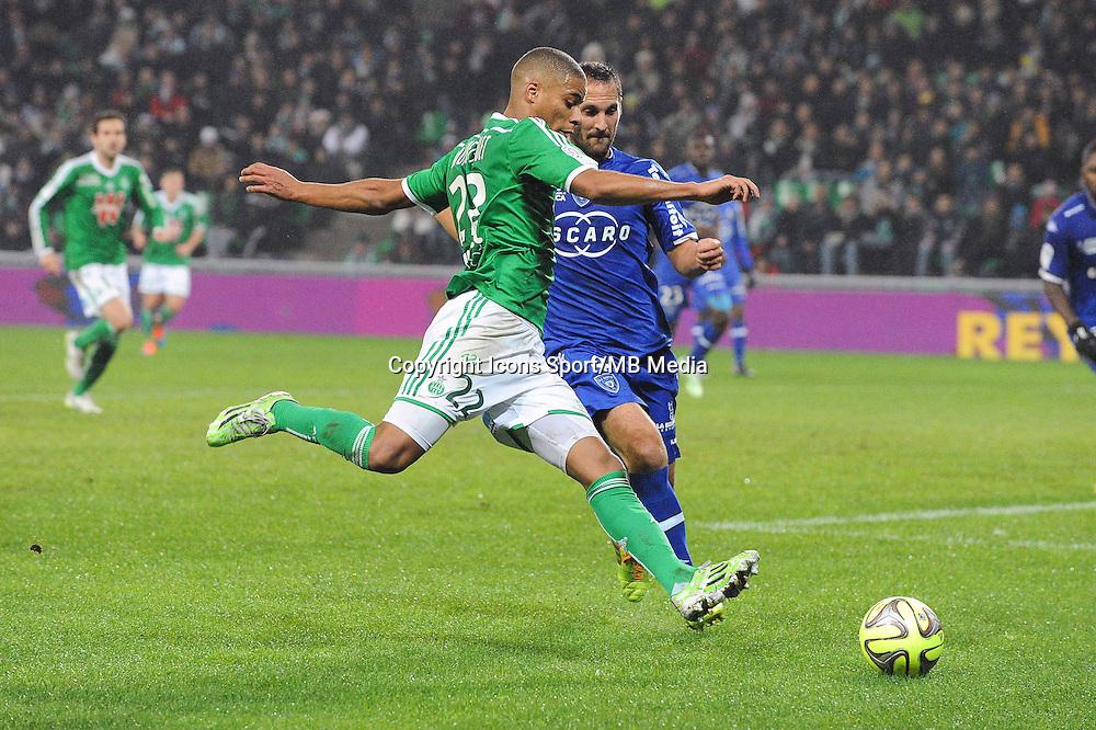 Kevin MONNET PAQUET - 06.12.2014 - Saint Etienne / Bastia - 17eme journee de Ligue 1 -<br />Photo : Jean Paul Thomas / Icon Sport
